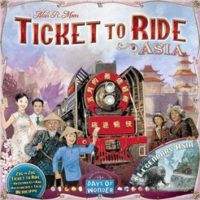 Ticket to Ride: Asia (Map #1)