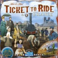 Ticket to Ride: France & The Old West (Map #6)