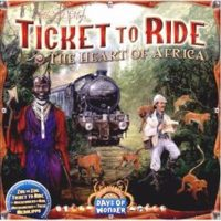 Ticket to Ride: The Heart of Africa (Map #3)
