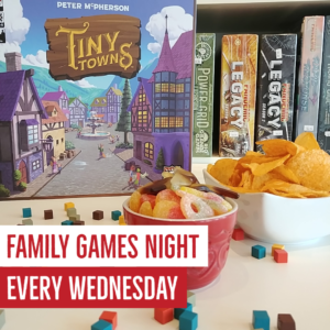 Family Games Night @ King Me